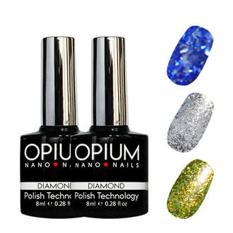 Гель-лаки OPIUM DIAMOND 8 мл