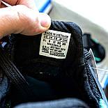 Мужские кроссовки Adidas EQT Support ADV черные с зеленым летние в сетку. Живое фото (Реплика ААА+), фото 3