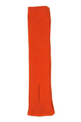 Вязаные детские гетры для танцев и гимнастики Оранжевый, фото 2