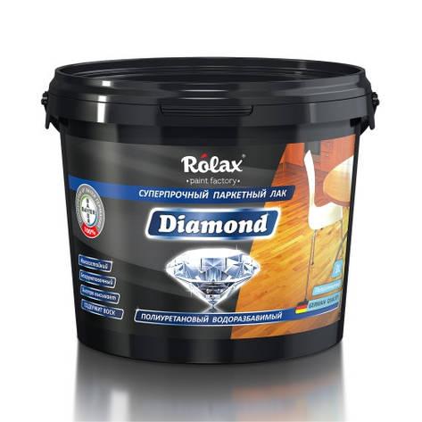 """Лак паркетный полиуретановый """"Diamond"""" 3л Ролакс, фото 2"""