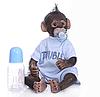 Обезьянка реборн ,силиконовая кукла реборн обезьяна. (11391)