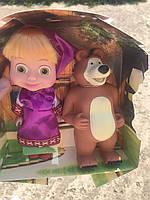 "Набор Маша и Медведь / набір Маша і Медвідь Лучшее качество / Кукла ""Маша и Медведь"" в коробке"