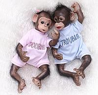 Обезьянка реборн ,кукла реборн обезьянка.Арт.(01392)