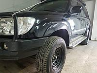 Расширители колесных арок LASSCAR на Toyota Land Cruiser 100 под силовые бампера