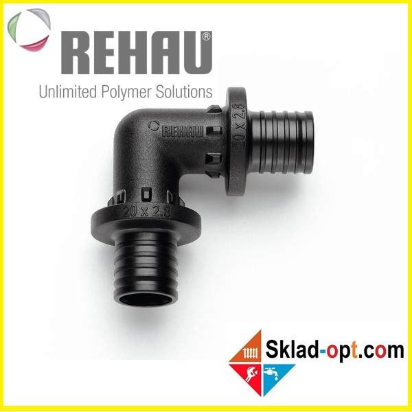 Колено Rehau PX Ø32 - 90°, равнопроходное. 160024-001