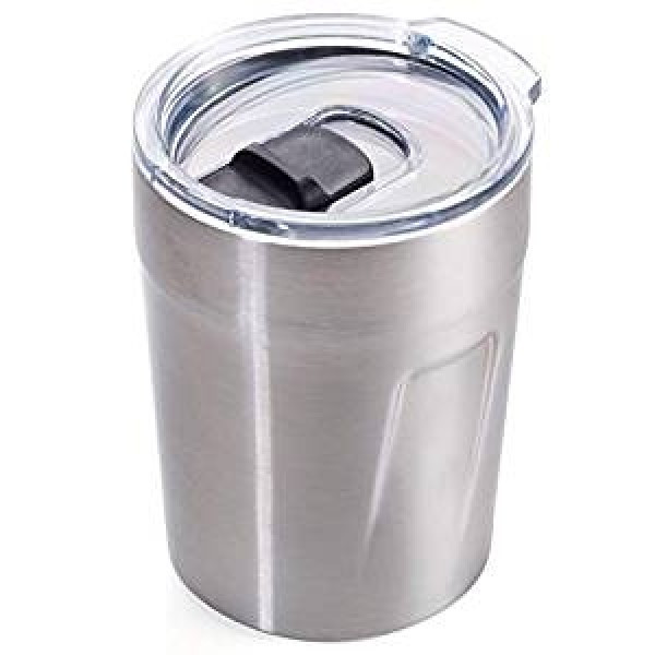 Термочашка для горячих напитков 160 мл стального цвета