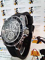 Мужские наручные часы Audi с датой на силиконовом ремешке