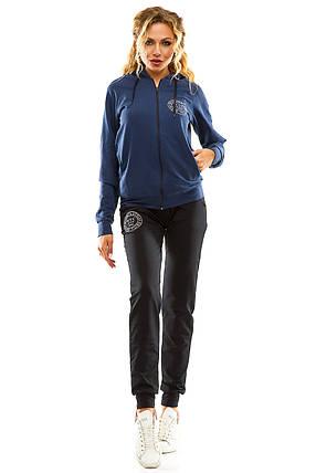 Спортивный костюм 713 синий, фото 2