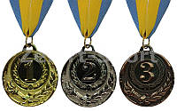 Медаль спортивная (Диаметр 5 см)