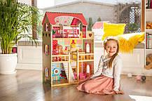Ігровий ляльковий будиночок Ecotoys 4109 Roseberry + 2 ляльки, фото 3