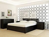 """Кровать деревянная TM """"YASON"""" Hong Kong PLUS с подъемным механизмом Белый и RAL (Массив Ольхи либо Ясеня), фото 1"""