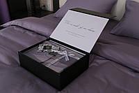 Постельный комплект Oliver Hill лиловый (двойной)