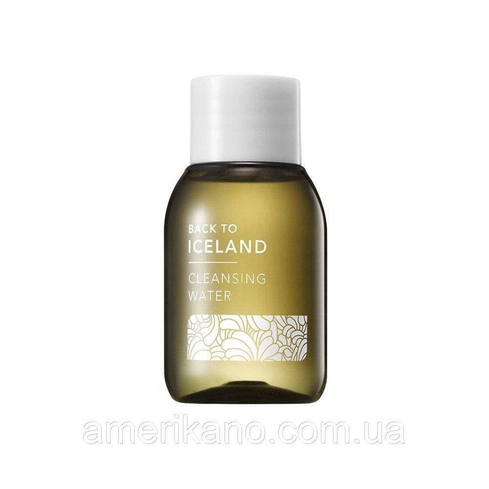 Мицеллярная вода THANK YOU FARMER Back To Iceland Cleansing Water, 30 мл