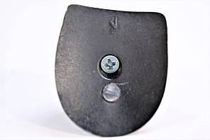 Каблук женский пластиковый 905 р.1-2  h-8,3-8,5 см., фото 2