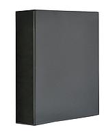 Папка Панорама Panta Plast А4  ширина торца 70 мм чёрная