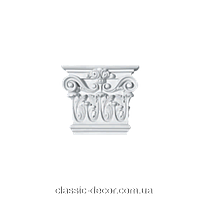 Капитель  Classic Home P145-K3, лепной декор из полиуретана.