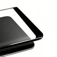 Защитное стекло 3D  FULL  GLUE  Samsung S 10 Plus  (изогнутое) черное, фото 1