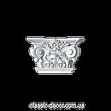 Капитель  Classic Home P145-K3, лепной декор из полиуретана., фото 5