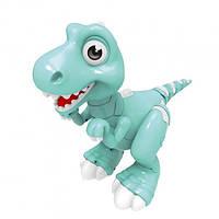 Интерактивная игрушка Smart Динозавр Jiabaile на радиоуправлении (Бирюзовый), фото 1