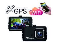 Carcam T518GW авторегистратор с Wi-Fi и GPS