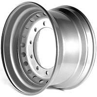 Колесный диск R22.5 КрКЗ 11.75x22.5 самосвал, бетоносмеситель МАЗ-750168, - 651668, -750268 (серый)