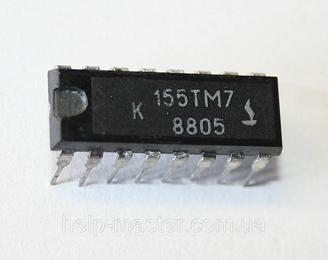 Микросхема К155ТМ (DIP-16)