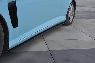 Диффузоры порогов юбка сплиттер тюнинг Hyundai Tiburon Mk2 рестайл