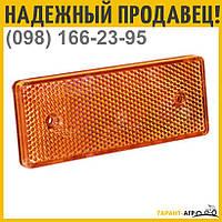 Катафот дорожный (оранжевый) | КД1-6А