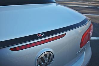 Спойлер козырёк накладка на багажник тюнинг Volkswagen EOS