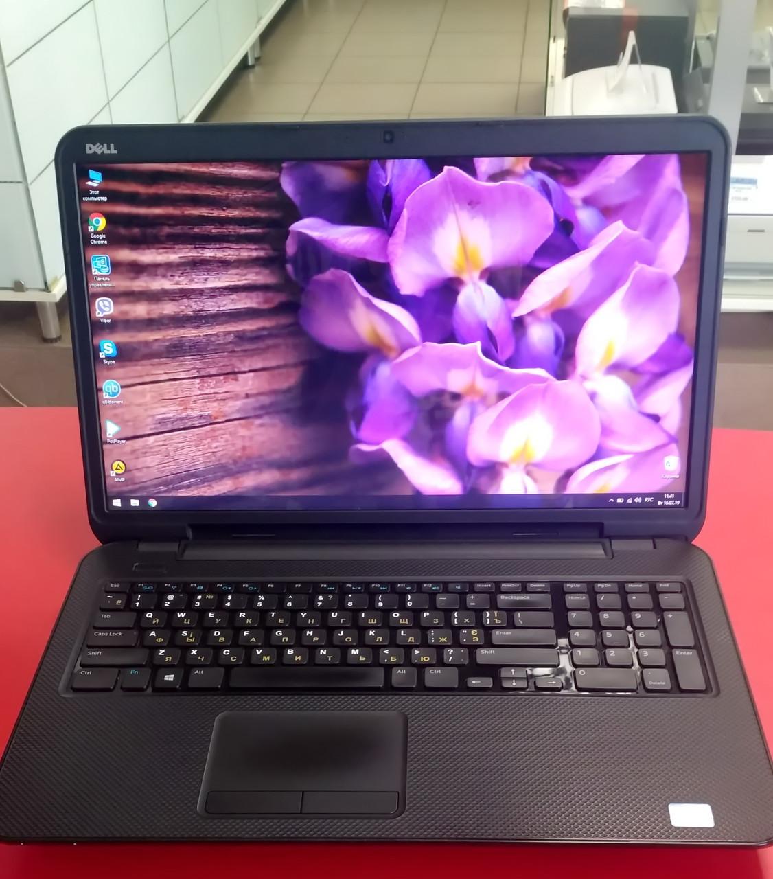 "Ноутбук Dell Inspiron 3721 17.3"" Intel Core i3 1.9 GHz 4 GB RAM 320 GB HDD Black Б/У"