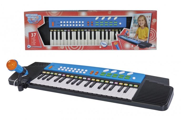 Електросінтезатор з мікрофоном 63х18 Sіmba (6835071)