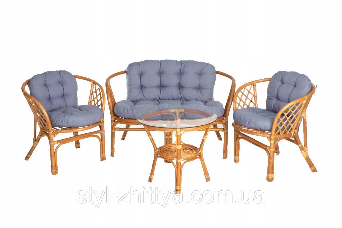 Набір меблів з натурального ротангу BAHAMA