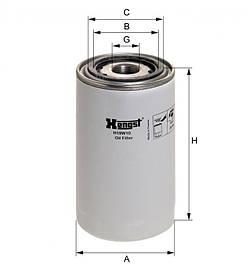 Масляний фільтр Hengst H19W10
