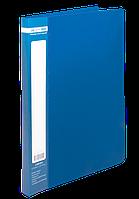 Папка со скоросшивателем Buromax Jobmax синяя