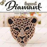 "Брелок Леопард - ""Leopard"" + подарочная упаковка"