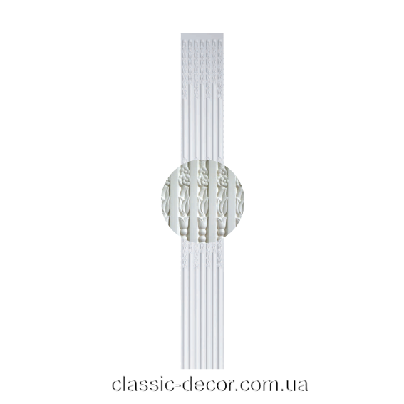 Тело Classic Home P198, лепной декор из полиуретана.