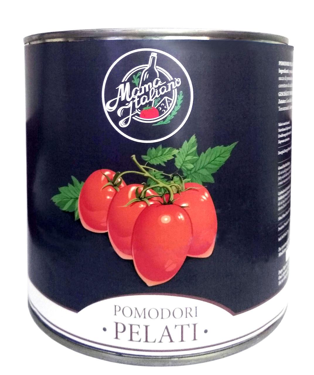 Помідори чищені Mama Italiano, 2.5 кг, (6шт)