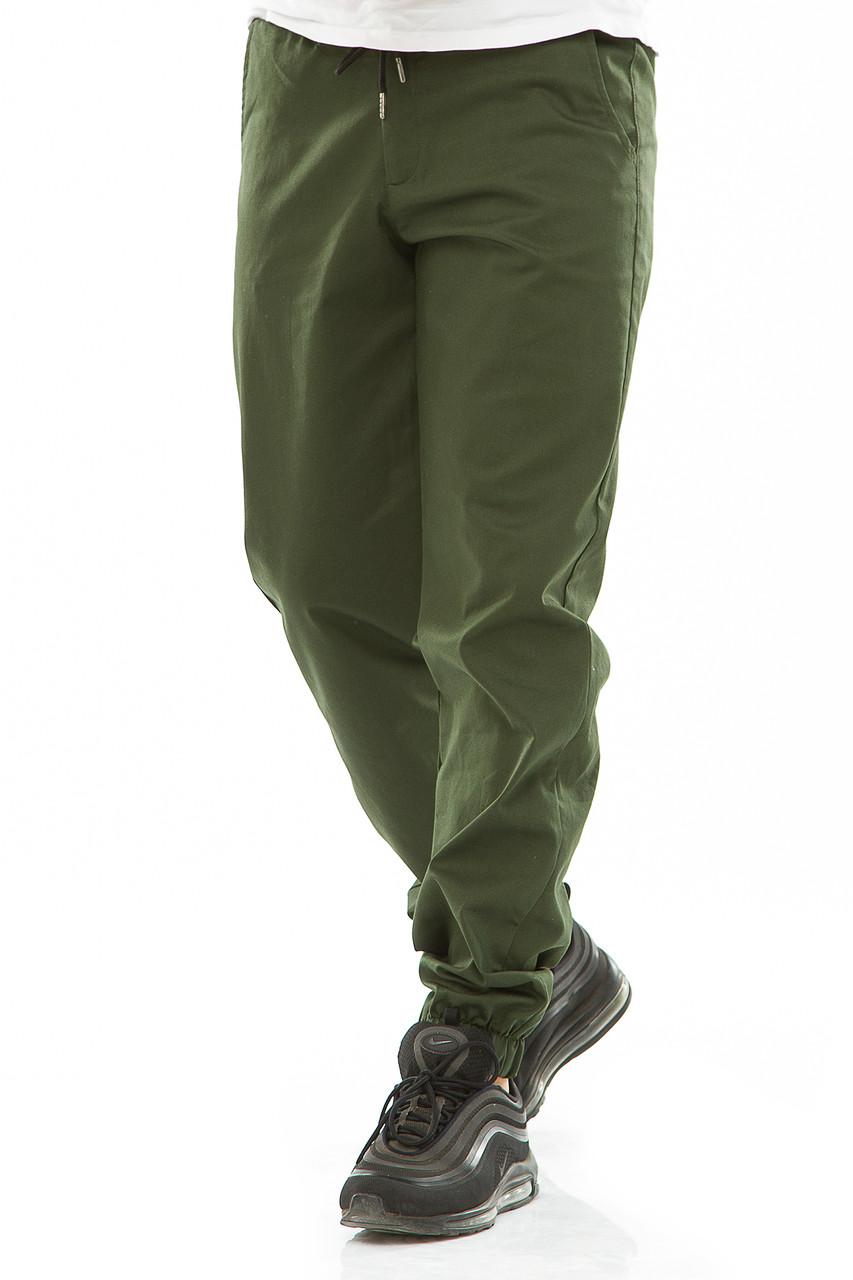 Мужские джоггеры 709 зеленые