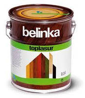 Толстослойная лазурь для дерева BELINKA TOPLASUR (бесцветный) 2.5 л