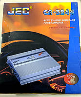 Автомобільний підсилювач звуку 4-х канальний JEC CA-3244 400 Вт