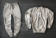 """Спортивный костюм мужской """"Memento Mori"""" Grey осенний   Комплект весенний Свитшот + штаны ТОП качества"""