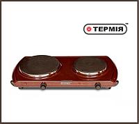 Электроплита Термия (эмаль 2 диска) , фото 1