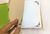 Альбом для фото или пожеланий гостей в деревянной обложке 20х20 см (красное дерево), фото 2