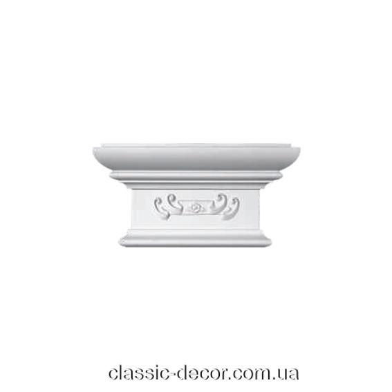 Капітель Classic Home P200-D2, ліпний декор з поліуретану.