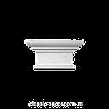 Капітель Classic Home P200-D2, ліпний декор з поліуретану., фото 3