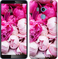 Чехол EndorPhone на HTC U11 Plus Розовые пионы 2747u-1363, КОД: 1018400