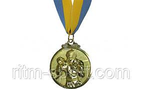 Медаль спортивная Бокс
