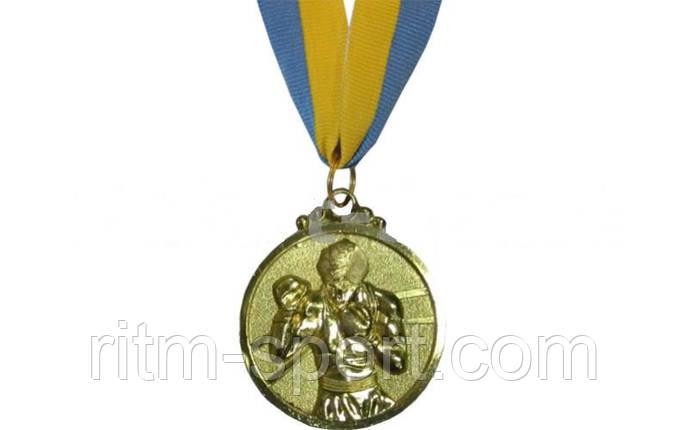 Медаль з стрічкою спортивна Бокс, фото 2