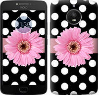 Чехол EndorPhone на Motorola Moto E4 Plus Горошек 2 2147u-1000, КОД: 1019240
