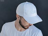 Белая кепка Staff all white logo